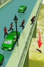 出租车司机当着女友面跳下南京长江大桥(图