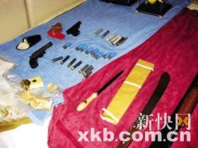 东莞市政协委员家查出疑似枪支弹药(组图)