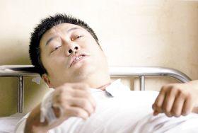 第二次受伤 20日18时30分许,在沐石河镇卫生院简单包扎过之后,受伤的图片