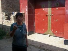 农妇清晨在家门口被全身炸伤(图)