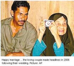 106岁老太嫁34岁男子 结婚3年不知丈夫吸毒
