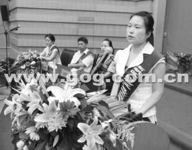 贵州女教师双目失明 仍坚持16年不弃讲台(图)