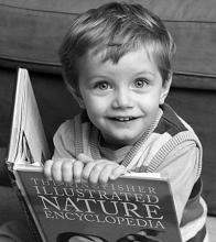 美两岁男童能说数千词汇 智商堪比爱因斯坦(图)