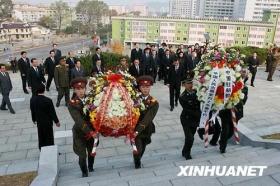 朝鲜纪念中国人民志愿军赴朝参战59周年(组图)