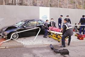 男子通宵饮酒后驾车肇事撞死1人伤3人(图)