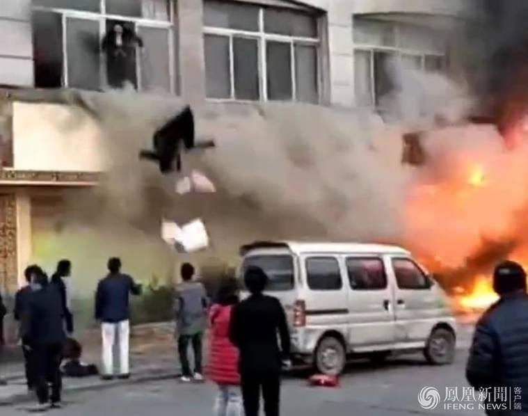 <a href=http://zj.110.com>浙江</a>足浴店起火致18死2伤:或因汗蒸房地暖爆炸