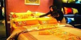 南京一套床上用品售价百万 号称皇家专用