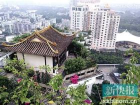 深圳联合执法队突击查处楼顶庙宇