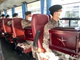 437具志愿军遗骸今日归国 老兵赴韩迎接
