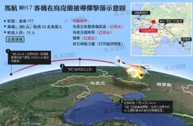 马航客机在乌克兰被击落 298人全遇难