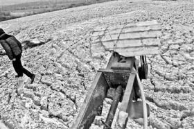 甘肃静宁县:自来水里现虫子 长达1厘米