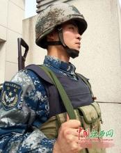 空军某部处置1起袭击营门抢夺枪支事件