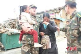 尼泊尔强震致西藏近30万人受灾 余震使灾情扩大
