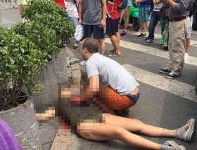 北京三里屯持刀伤人事件遇袭者为新婚夫妻