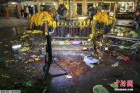 泰国曼谷爆炸遇难人数上升至22人 123人受伤