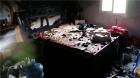 女子被丈夫反锁自家养猪场 活活烧死
